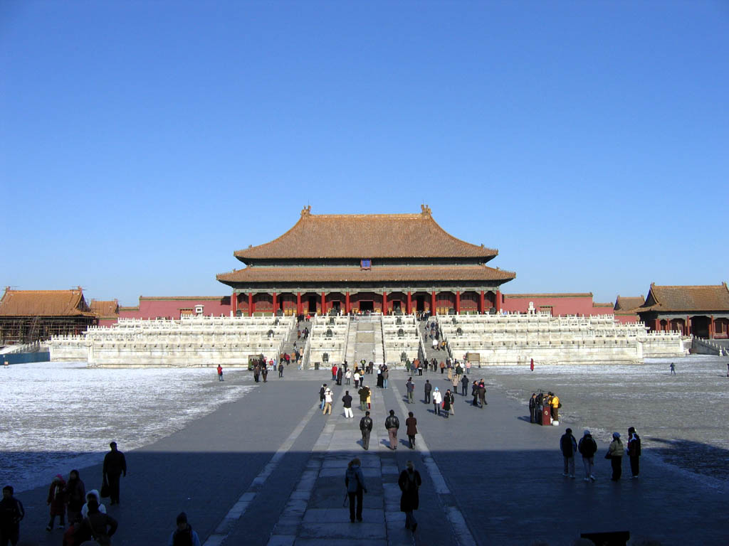 Beijing. Forbidden city. Hall of Supreme Harmony