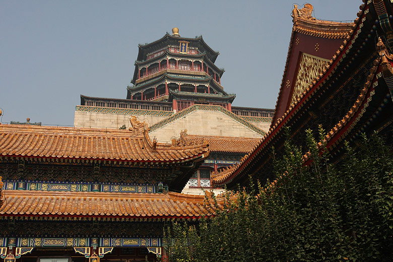 Beijing. Summer Palace. Temple of Buddhist Virtue