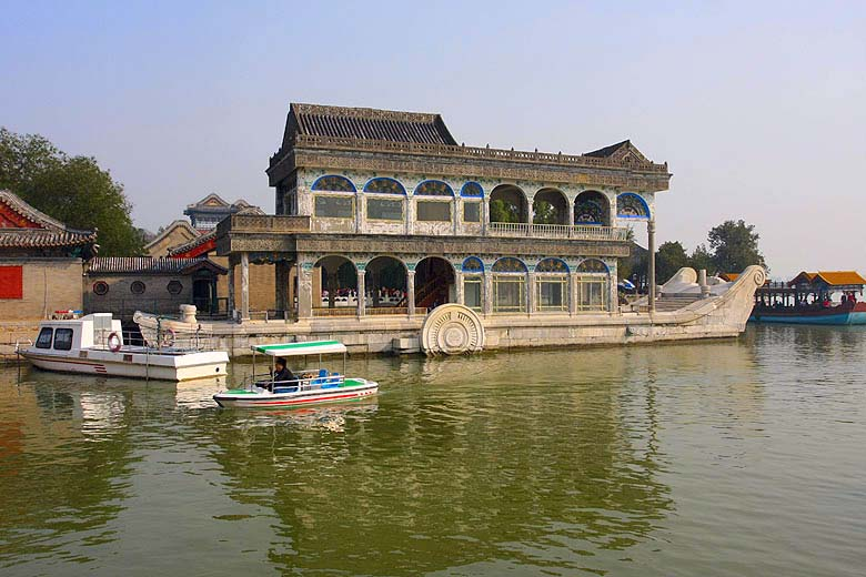 Beijing. Summer Palace. The Marble Boat